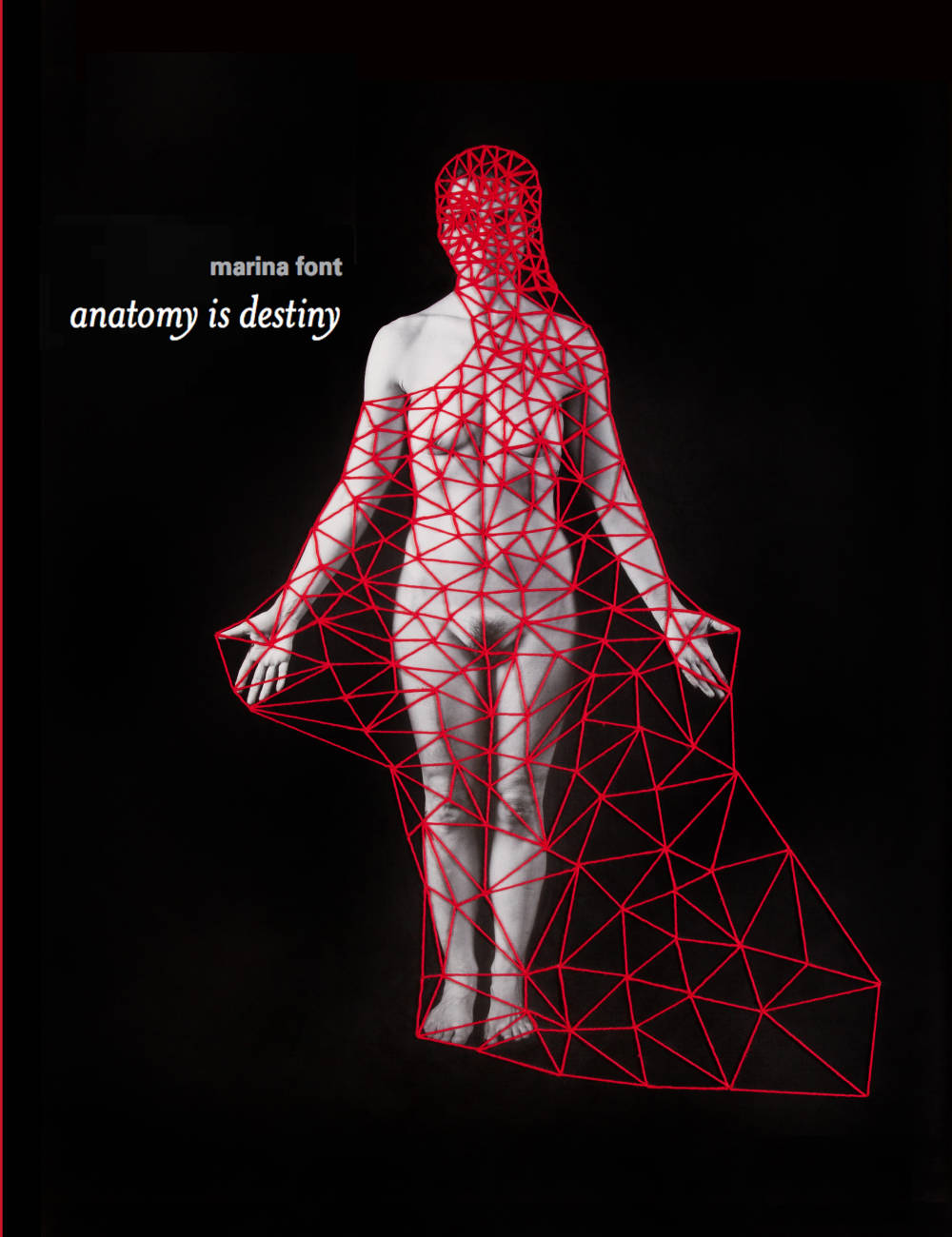 Marina Font's book, 'Anatomy is Destiny' is available for presale through Minor Matters Books (2017).