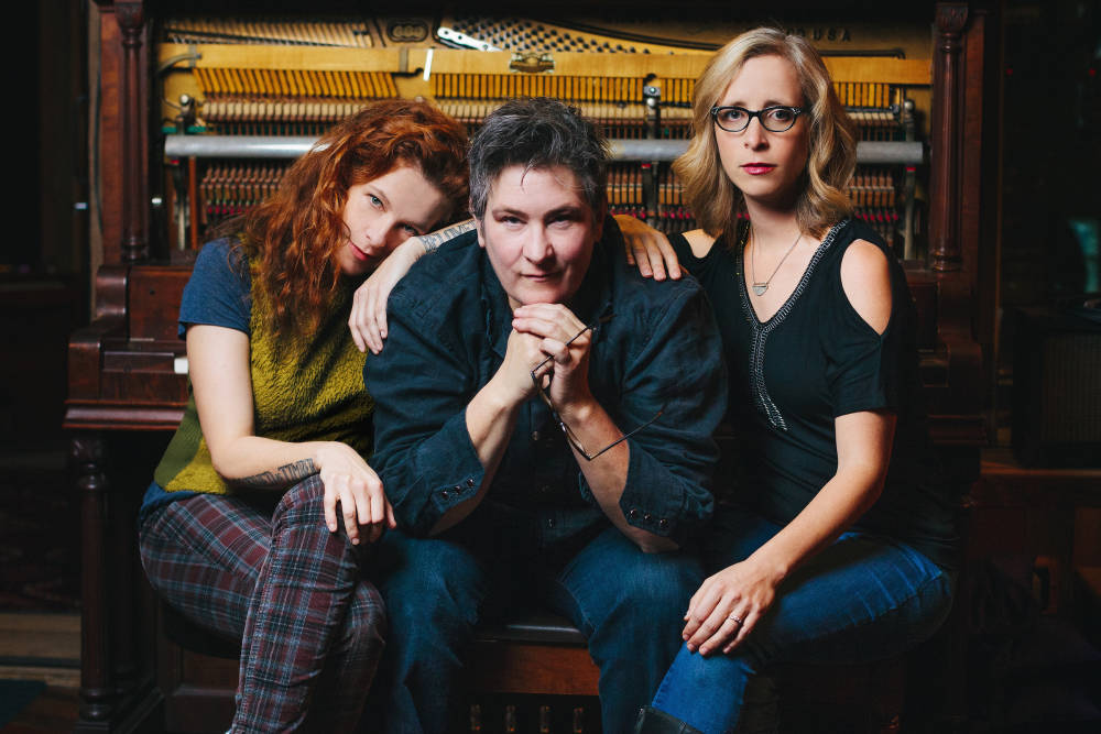 case/lang/veirs is Neko Case, k.d. lang and Laura Veirs. Photo: Jason Quigley