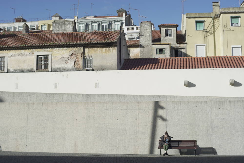Sitora, at work in Lisbon. Photo: Michael Krieger