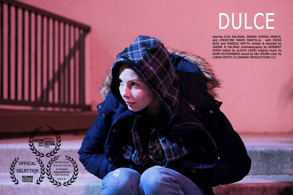 Janine Salinas Schoenberg wrote and directed 'Dulce', a Lunamar production.