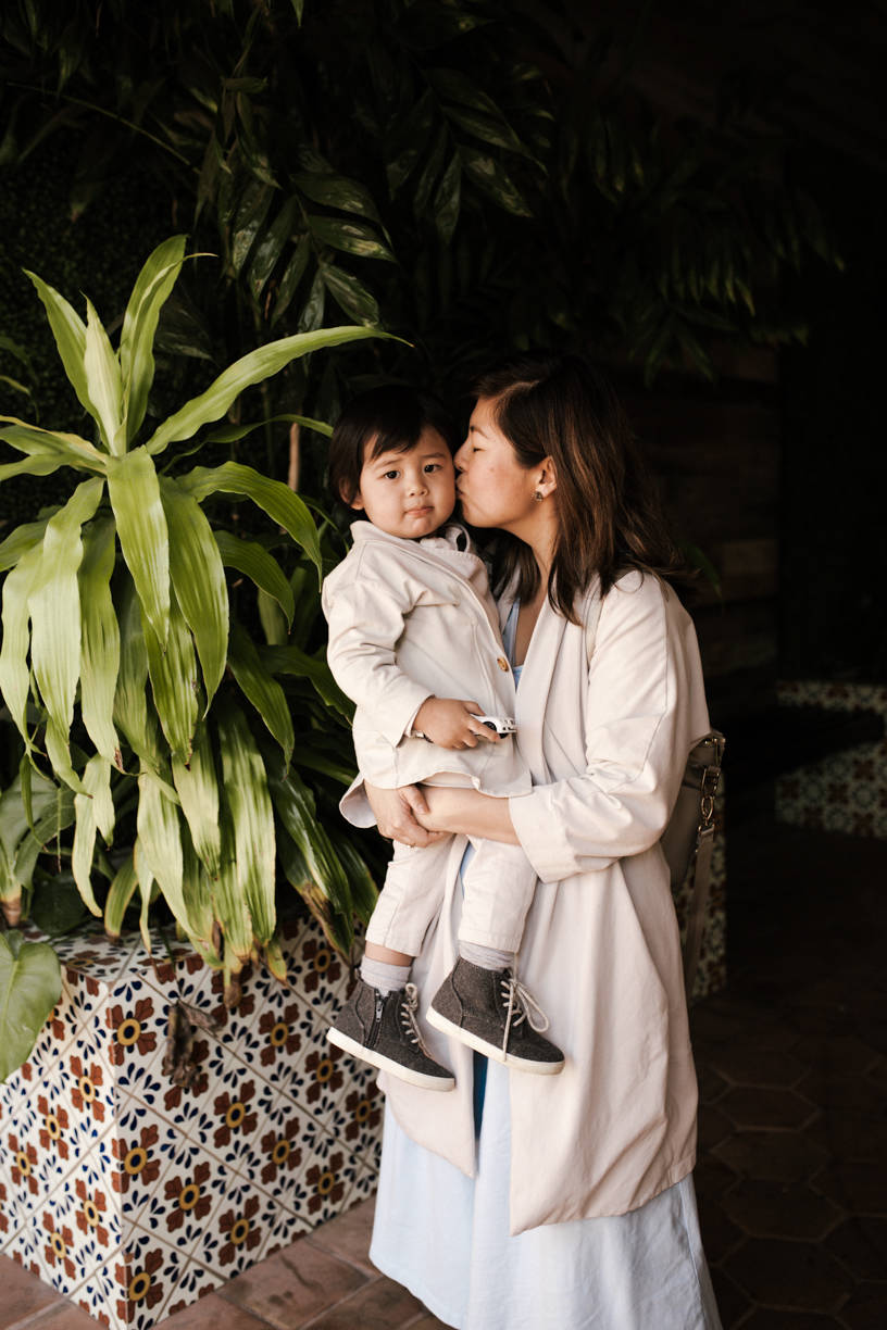 Lisa Hsieh, with her son Greysen. Photo: Rebekkah Cefai