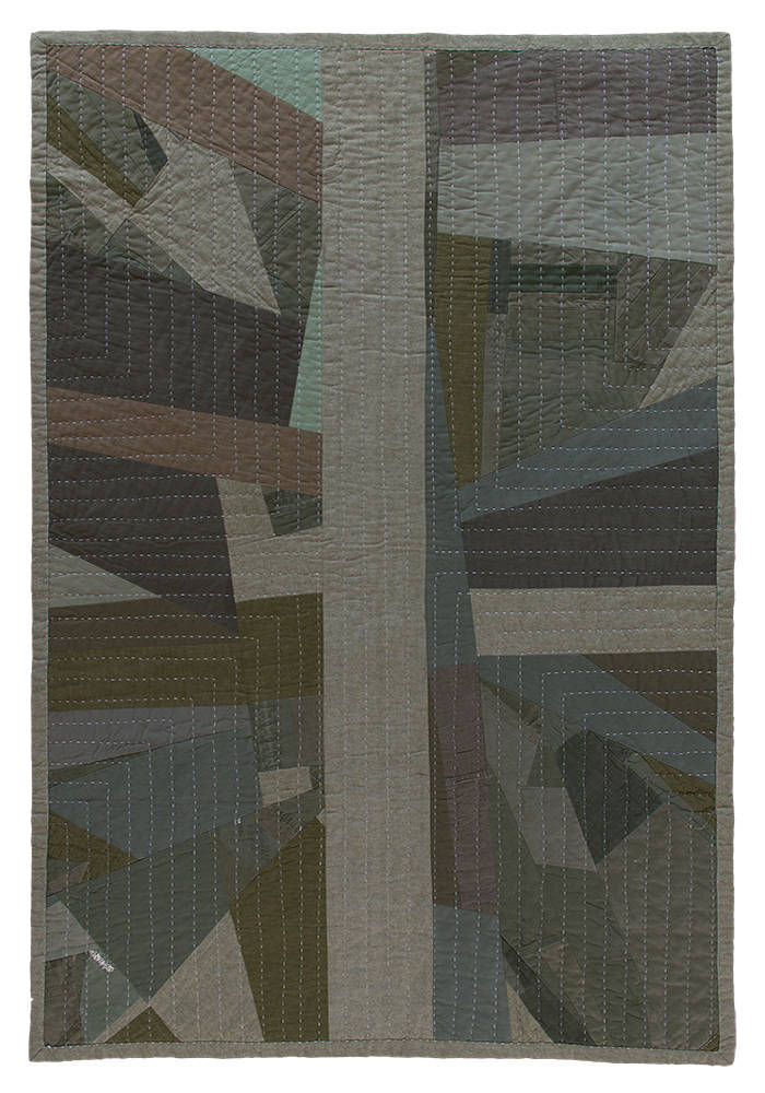 'Military Quilt' by Mandy Blankenship. Photo: Aaron Greene