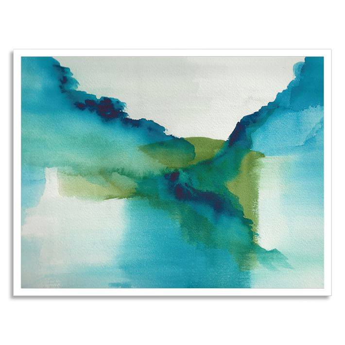 'Enchant' framed print, created by Christine Joy Design for Minted for West Elm.