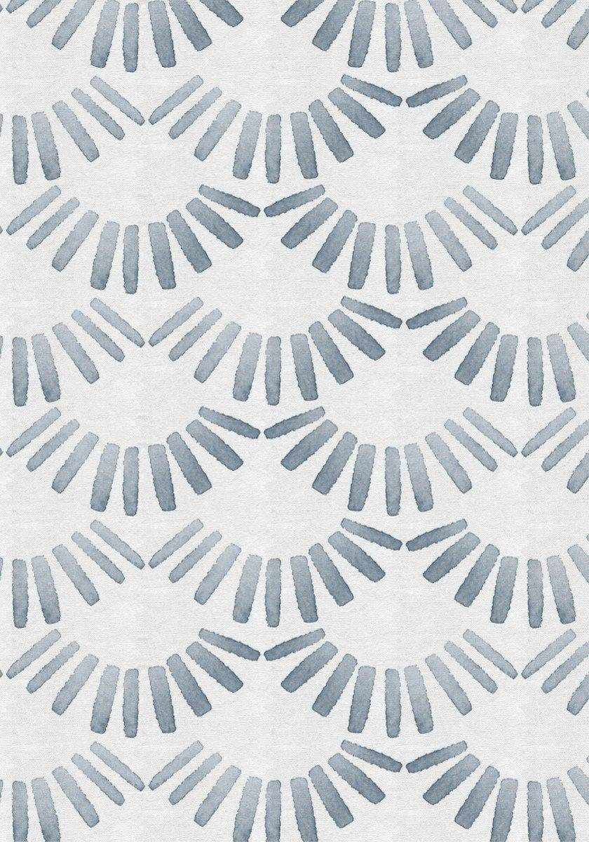 'Fanned' print created by Christine Joy Design for Guildery.